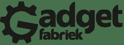 GadgetFabriek logo (donker)