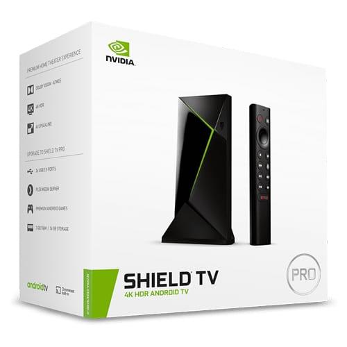 Nvidia Shield TV Pro (productverpakking)
