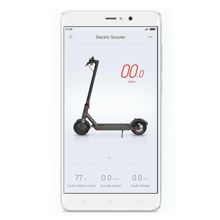 Xiaomi M365: Mi Home App