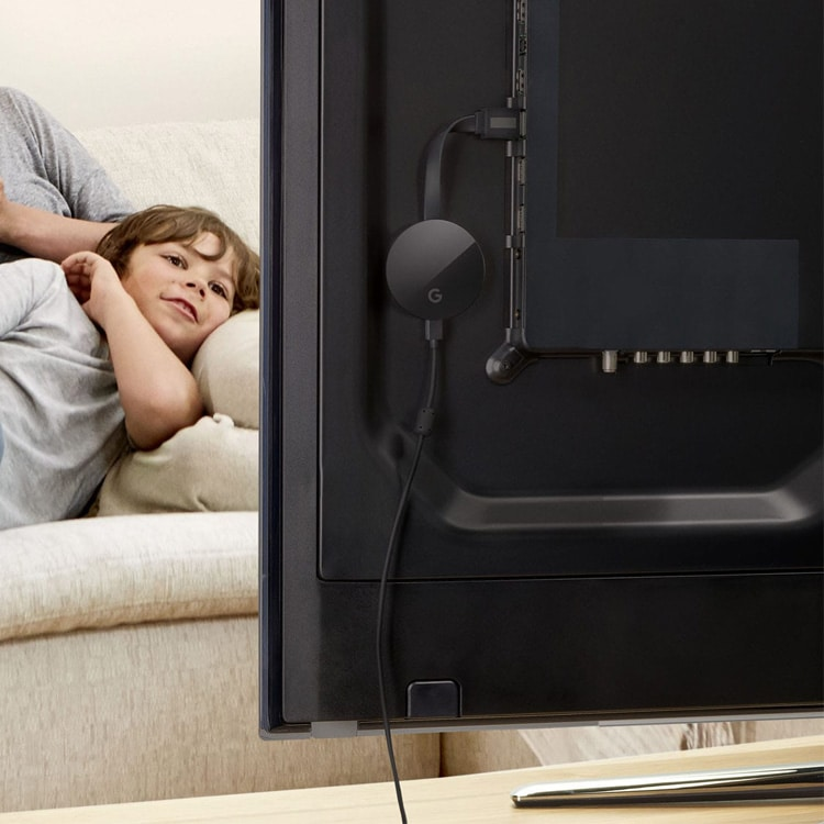 Chromecast Ultra in TV