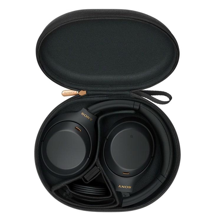Sony WH-1000XM4 zwart in opbergcase