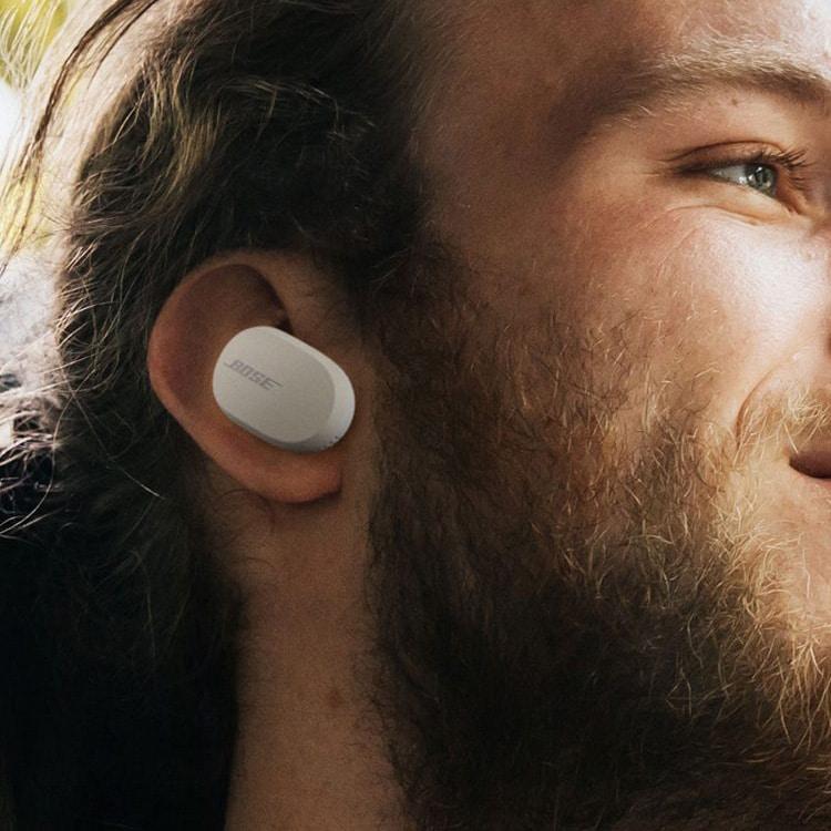 Bose QC Earbuds (wit) foto