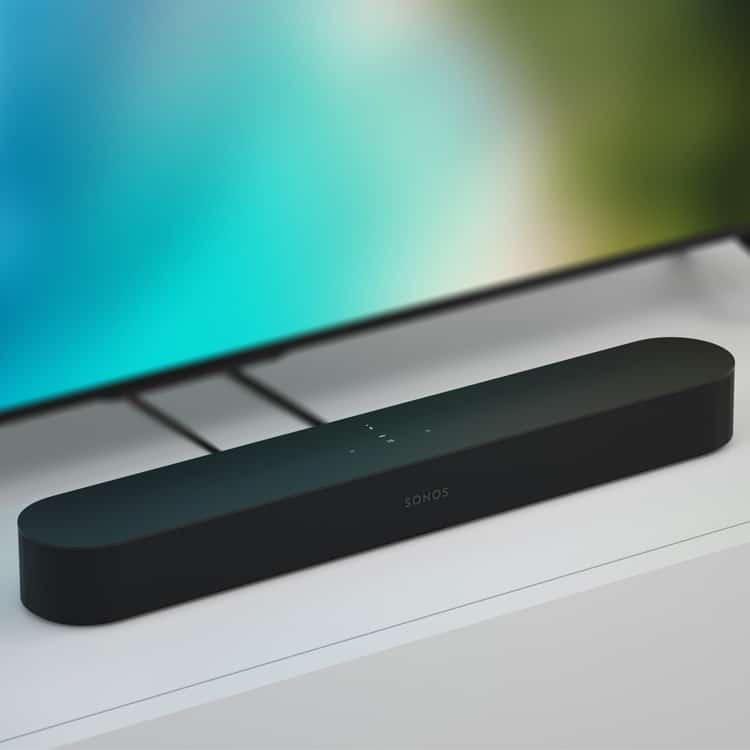 Sonos Beam soundbar (zwart) met TV