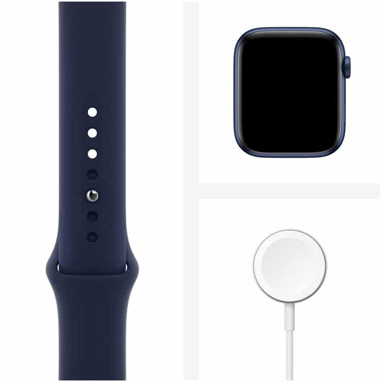 Inhoud pakket Apple Watch Series 6 Blauw