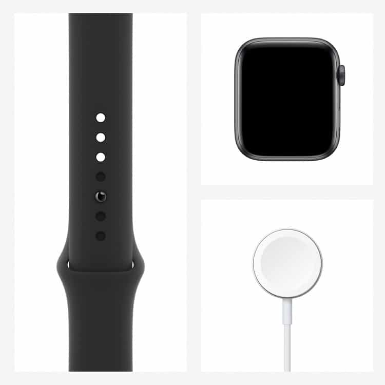 Apple Watch 6 | Spacegrijs | Inhoud pakket