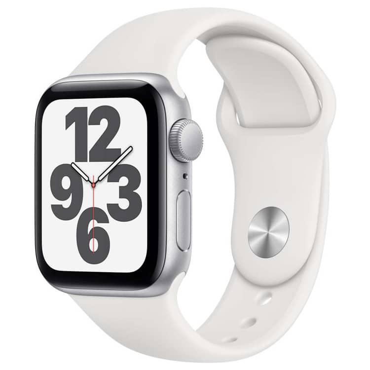 Apple Watch SE | Kleur: Zilver | Kastgrootte: 40 mm