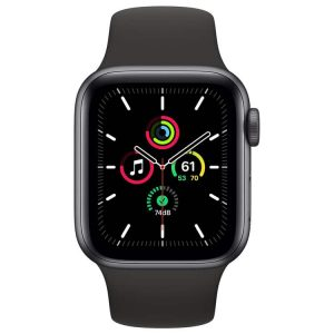 Apple Watch SE (spacegrijs, 44mm)