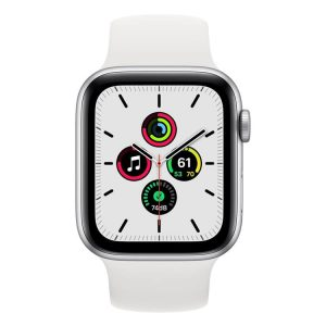 Apple Watch SE (zilver) 44mm