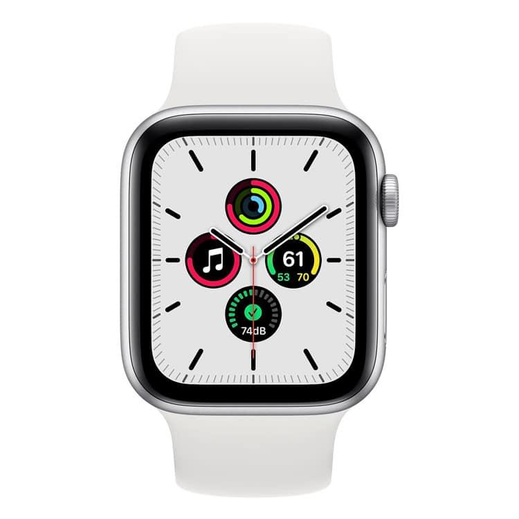 Apple Watch SE (zilver) 44mm