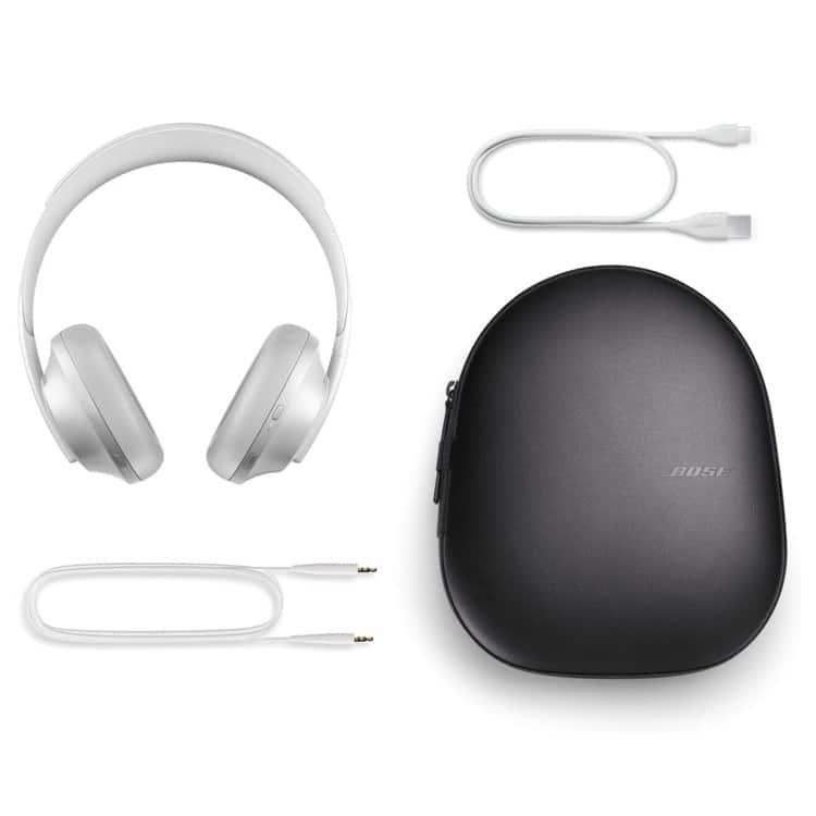 Inhoud pakket Bose Headphones 700 zilver