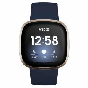 Fitbit Versa 3 (blauw)