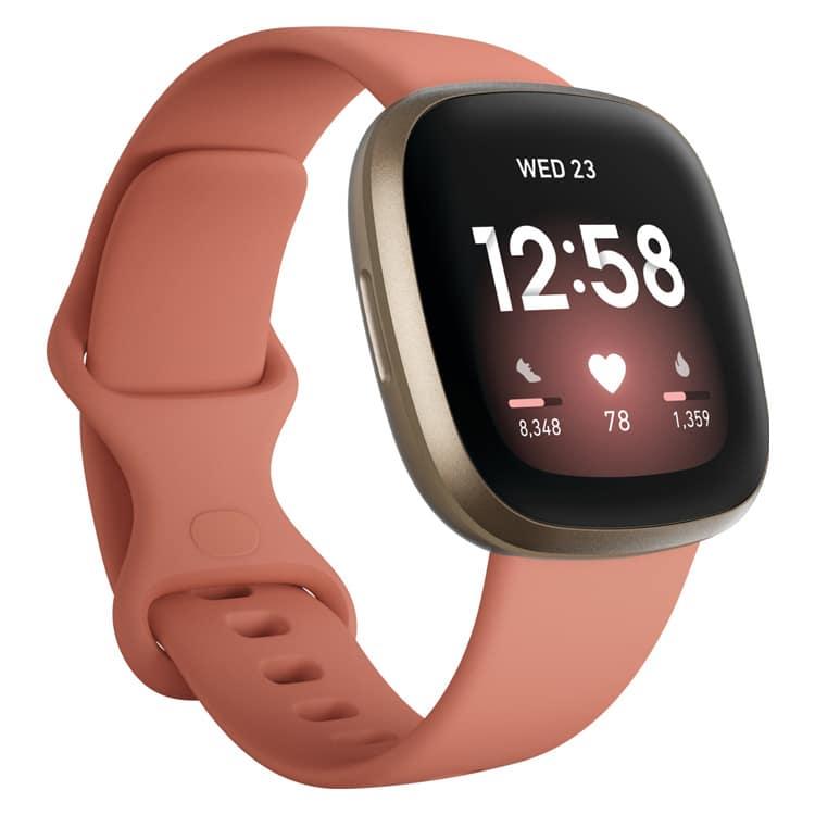 Fitbit Versa 3 smartwatch roze