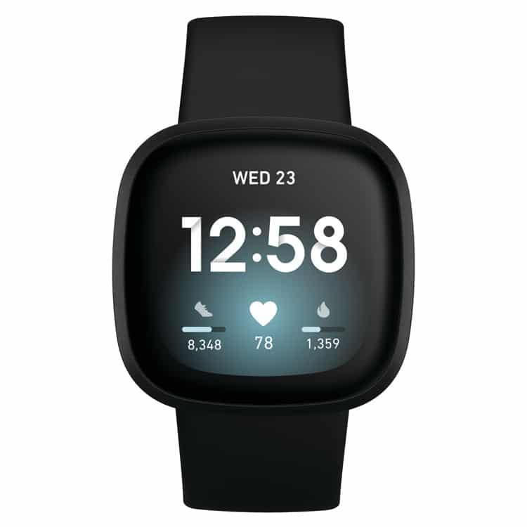 Fitbit Versa 3 smartwatch (zwart)