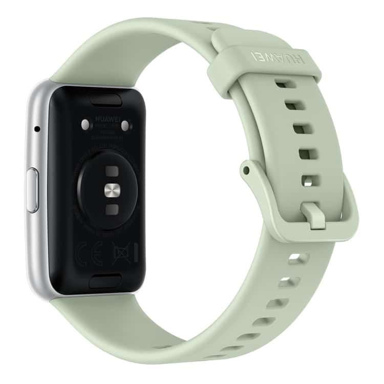 Huawei Watch Fit (groen) achterkant smartwatch