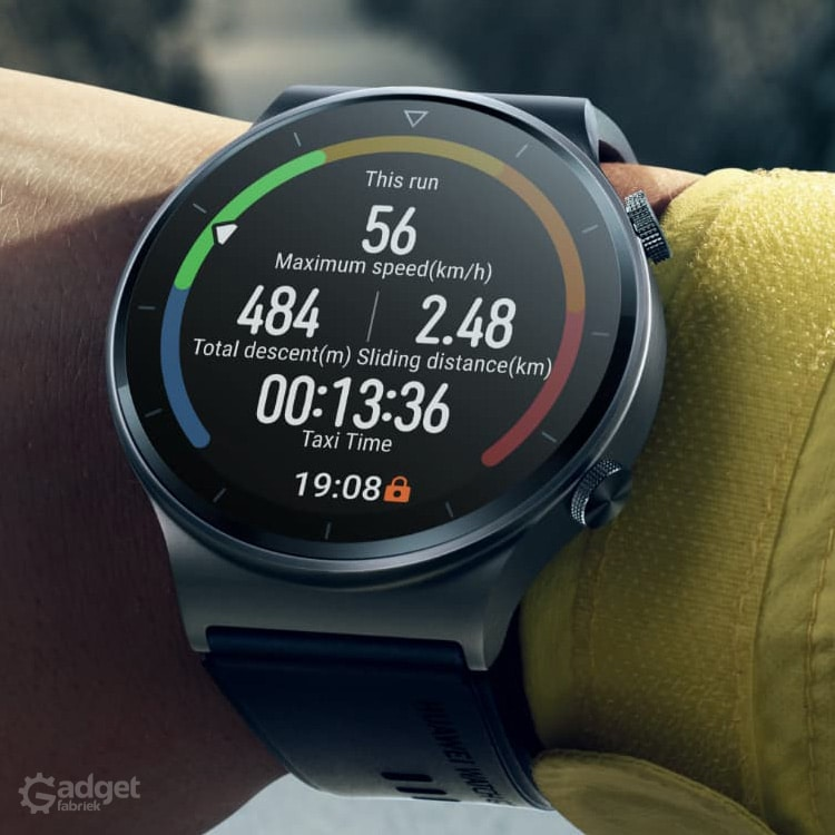 Foto van de Huawei Watch GT2 Pro