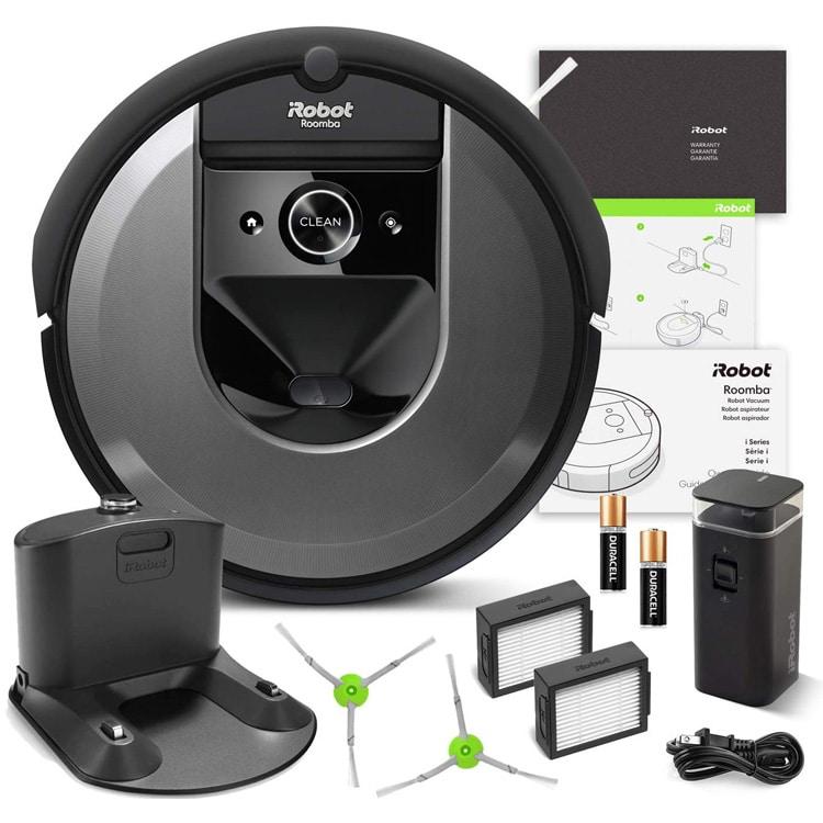 INhoud pakket iRobot Roomba i7