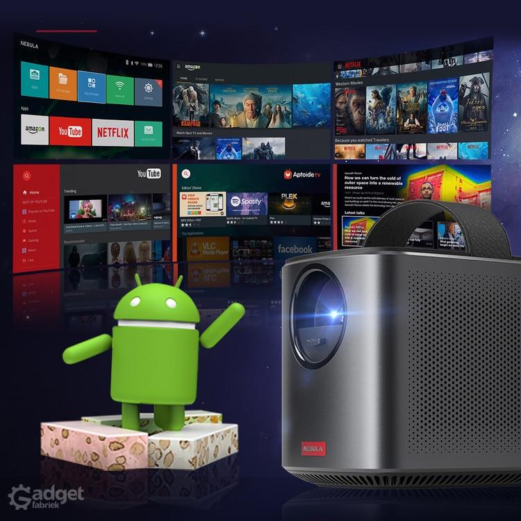 Nebula Mars 2 Pro: Android Beamer