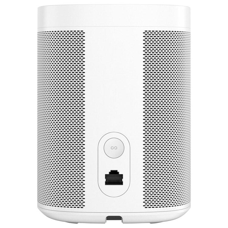 Sonos One (wit) achterkant