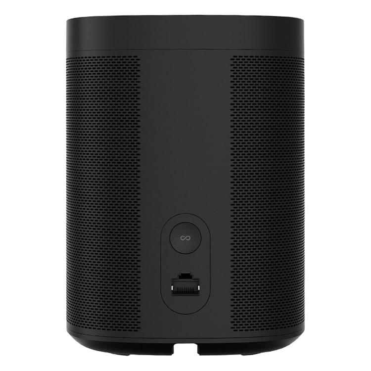Sonos One speaker zwart (achterkant)