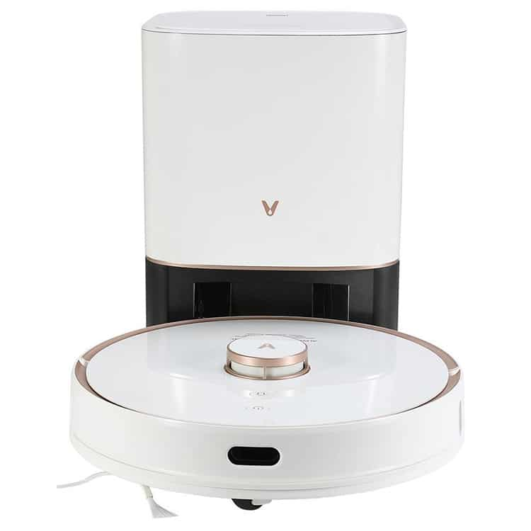 Viomi S9 robotstofzuiger met afvoerstation