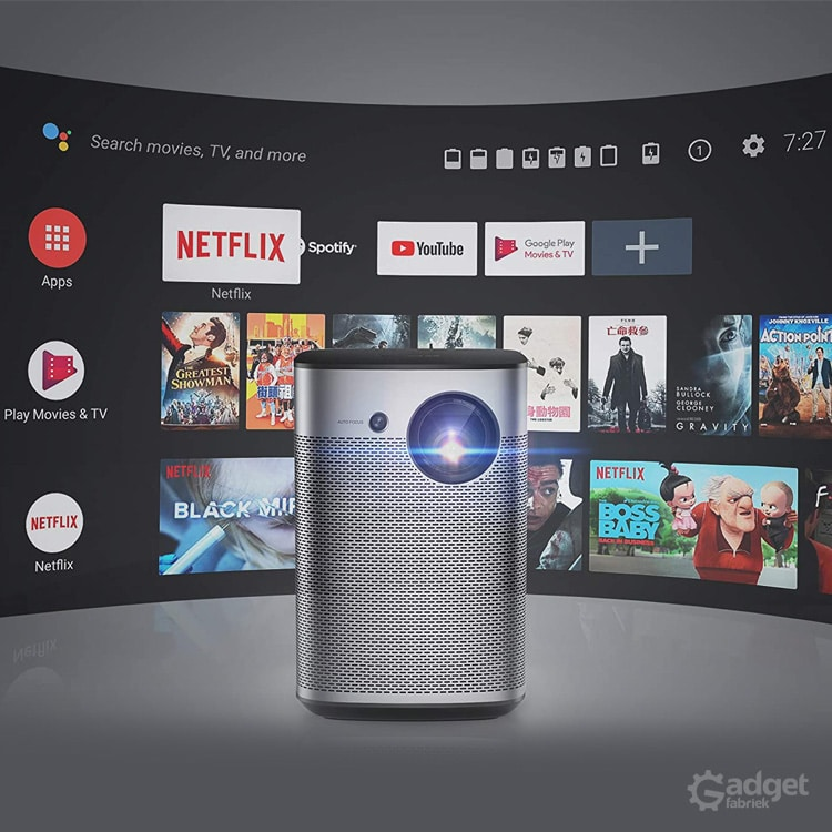 XGIMI Halo: mobiele beamer met Android TV