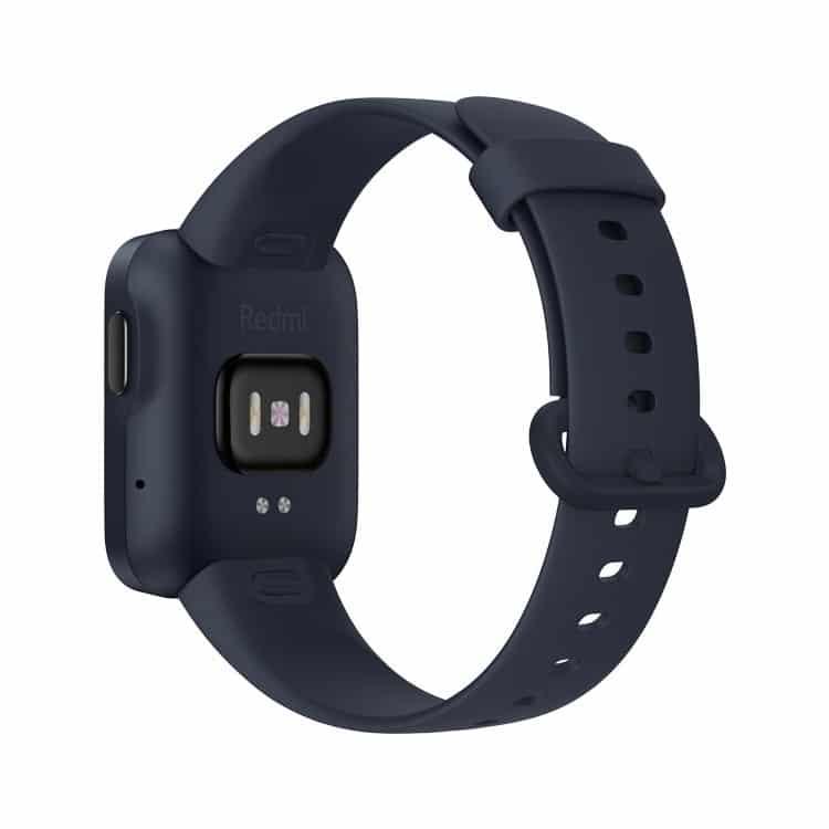 Xiaomi Redmi Watch Blauw smartwatch (achterkant)