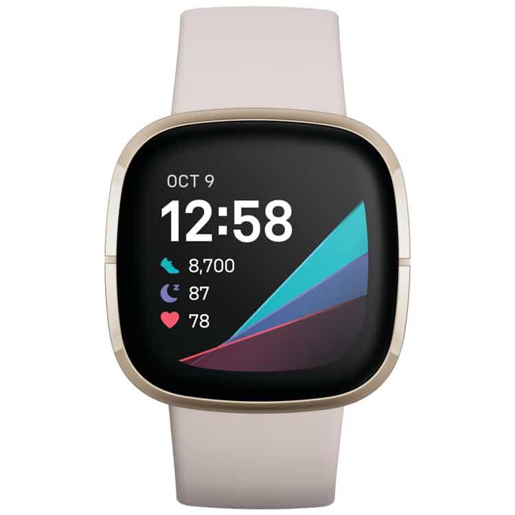 Fitbit Sense (Wit) smartwatch