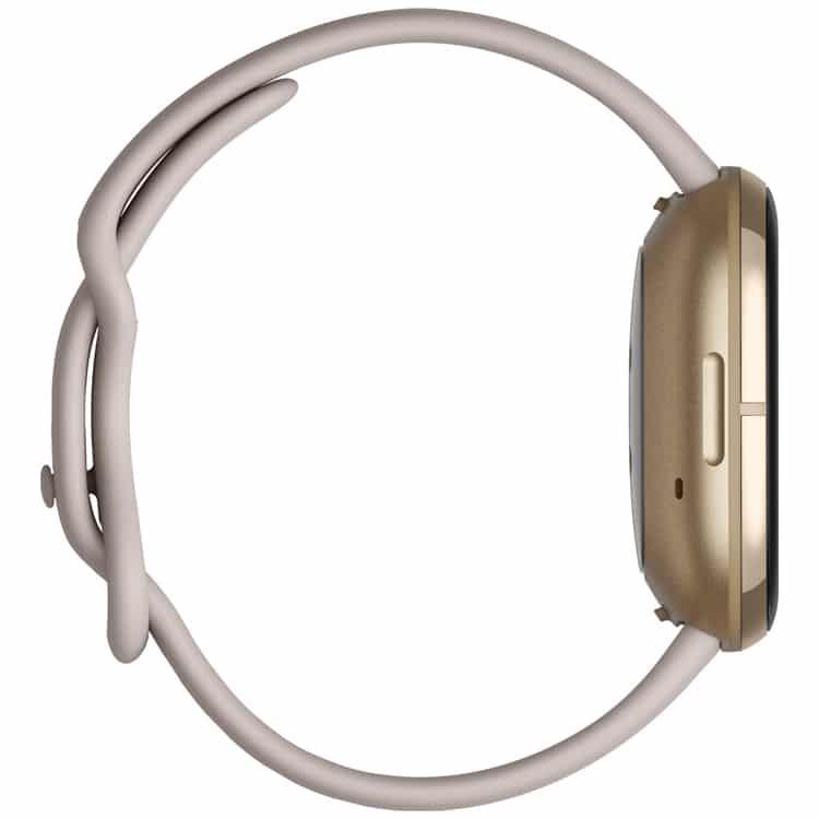Fitbit Sense (Wit) zijkant