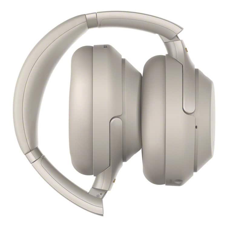Sony WH-1000XM3 zilver (ingeklapt)