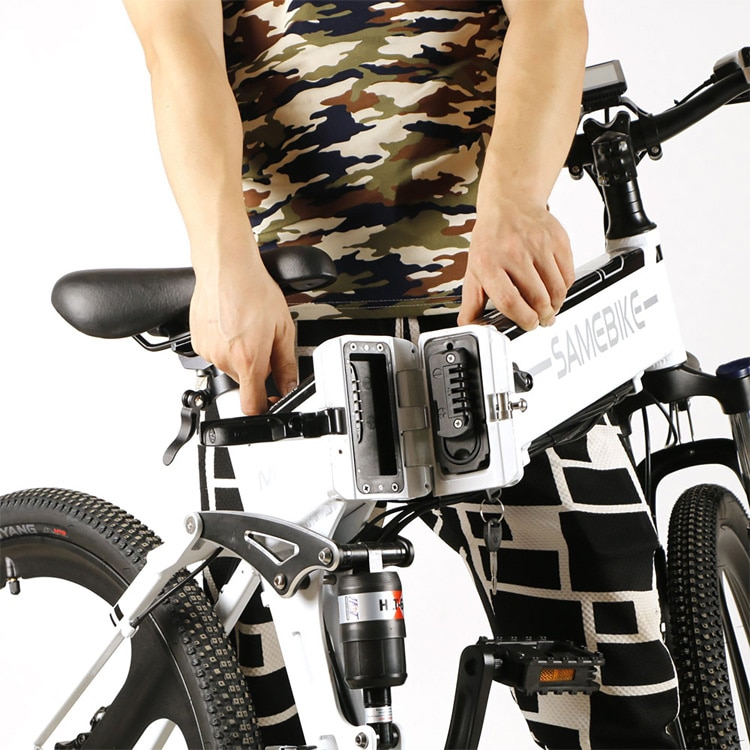 Opvouwbare elektrische mountainbike: Samebike LO26
