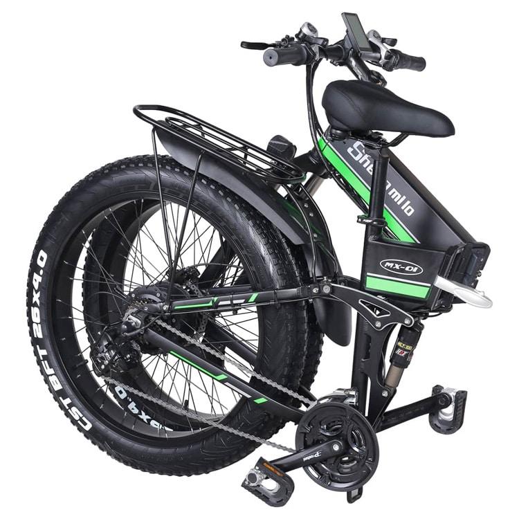 Shengmilo MX01: opvouwbare elektrische mountainbike