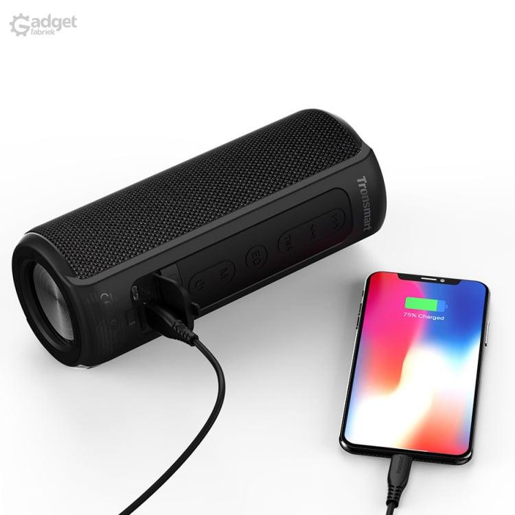 Tronsmart T6 Plus - bluetooth speaker met powerbank functie